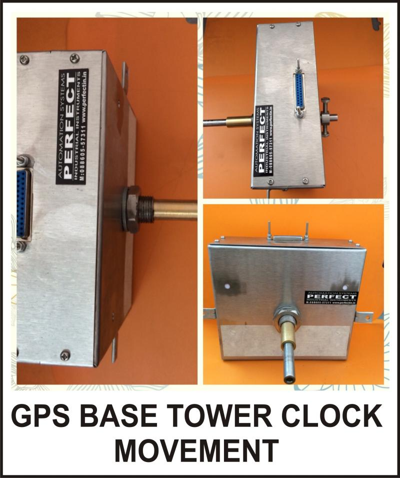 GPS BASE TOWER CLOCK MOVEMENT