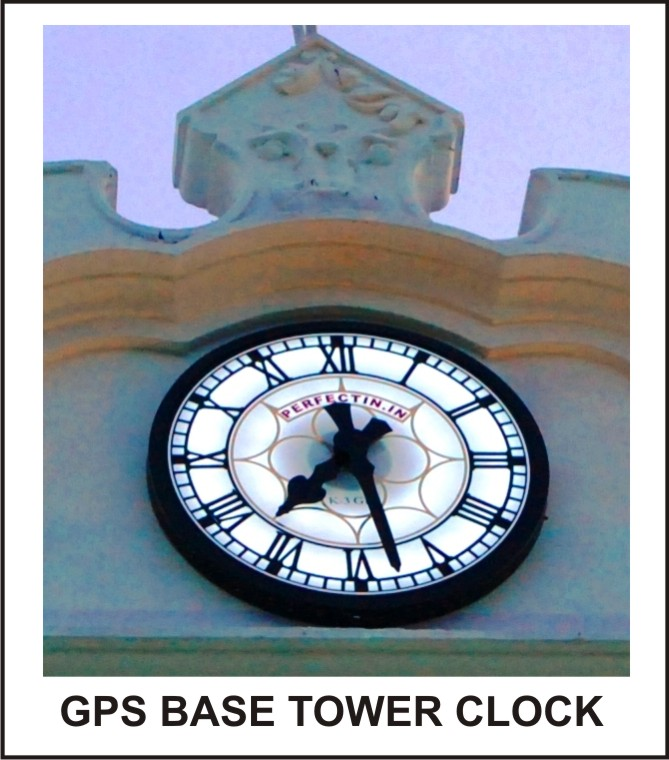 GPS TOWER CLOCK