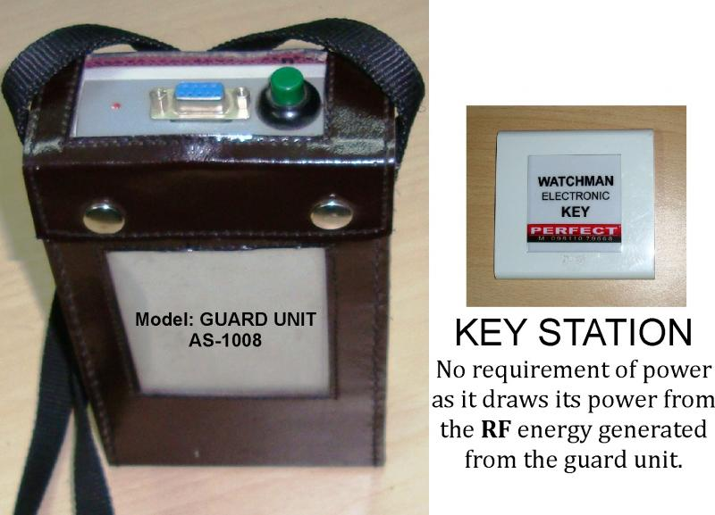 AS-1008 Computerised Guard Watchman Controller.