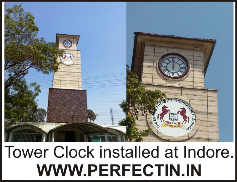 Tower Clock Installed At Indore